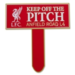 Liverpool Keep Off The Pitch Sign