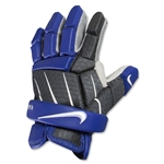 Nike Vandal 10 Lacrosse Gloves (Royal)