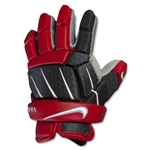 Nike Vandal 10 Lacrosse Gloves (Red)