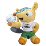 2014 FIFA World Cup Brazil(TM) 13cm Plush Mascot with Suction Cup