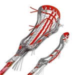 Brine Limited Edition Dynasty Elite Complete Lacrosse Stick (Red)