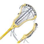 Brine Limited Edition Dynasty Elite Complete Lacrosse Stick (Yellow)