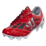 Warrior Gambler II Clash FG Junior (Velocity Red/Ignite/Caviar/Metallic Silver)