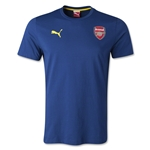 Arsenal Badge Fan T-Shirt (Navy)