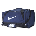 Nike Brasilia 6 Large Duffle Bag (Navy)
