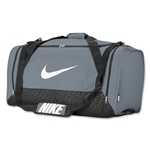 Nike Brasilia 6 Large Duffle Bag (Gray)