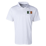 Ireland Flag Retro Rugby Jersey (White)