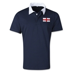 England Retro Flag Shirt (Navy)