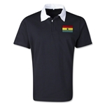 Ghana Retro Flag Shirt (Black)
