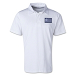Greece Retro Flag Shirt (White)