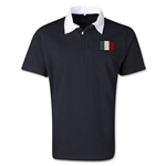 Italy Retro Flag Shirt (Black)