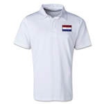 Netherlands Retro Flag Shirt (White)