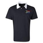 South Africa Retro Flag Shirt (Black)