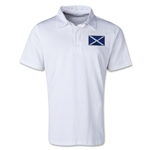 Scotland Retro Flag Shirt (White)