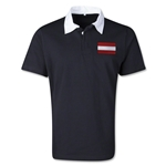 Austria Retro Flag Shirt (Black)