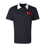 Tunisia Retro Flag Shirt (Black)