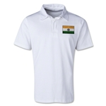 India Retro Flag Shirt (White)