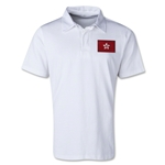 Hong Kong Retro Flag Shirt (White)