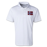 Norway Retro Flag Shirt (White)