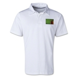 Zambia Retro Flag Shirt (White)