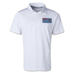 Fiji Retro Flag Shirt (White)