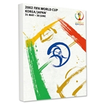 2002 FIFA World Cup Korea/Japan Poster Stretch Canvas