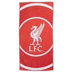 Liverpool Bullseye Beach Towel