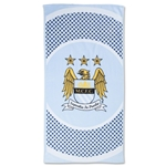 Manchester City Bullseye Beach Towel