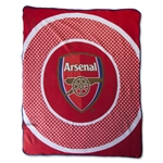 Arsenal Bullseye Fleece Blanket