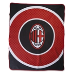 AC Milan Bullseye Fleece Blanket