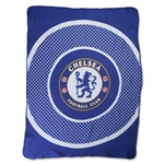 Chelsea Bullseye Fleece Blanket