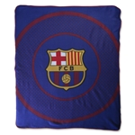 Barcelona Bullseye Fleece Blanket