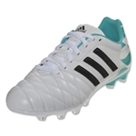 adidas Women's 11Nova TRX FG (Running White/Black/Vivid Mint)