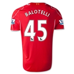 Liverpool 14/15 BALOTELLI Home Soccer Jersey