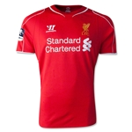 Liverpool 14/15 Home Soccer Jersey w/ FA Cup Badge