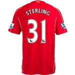 Liverpool 14/15 STERLING Home Soccer Jersey