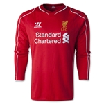 Liverpool 14/15 Jersey de Futbol Local (mangas largas)