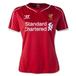 Liverpool 14/15 Womens Home Soccer Jersey
