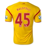 Liverpool 14/15 BALOTELLI Away Soccer Jersey