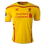 Liverpool 14/15 Away Soccer Jersey w/ FA Cup Badge