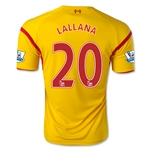 Liverpool 14/15 LALLANA Away Soccer Jersey
