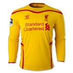 Liverpool 14/15 LS Away Soccer Jersey w/ FA Cup Badge