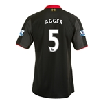 Liverpool 14/15 AGGER Third Soccer Jersey