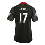 Liverpool 14/15 SAKHO Third Soccer Jersey