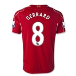 Liverpool 14/15 GERRARD Youth Home Soccer Jersey