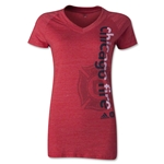 Chicago Fire Women's Decision V-Neck T-Shirt