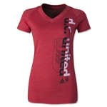 DC United Women's Decision V-Neck T-Shirt