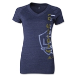 LA Galaxy Women's Decision V-Neck T-Shirt