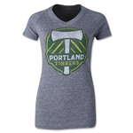 Portland Timbers Originals Women's Fan V-Neck T-Shirt