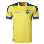 Ecuador 2014 Authentic Home Soccer Jersey